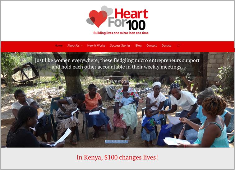 Heart for 100